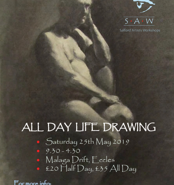 """All Day Life Drawing"" poster, 2019"