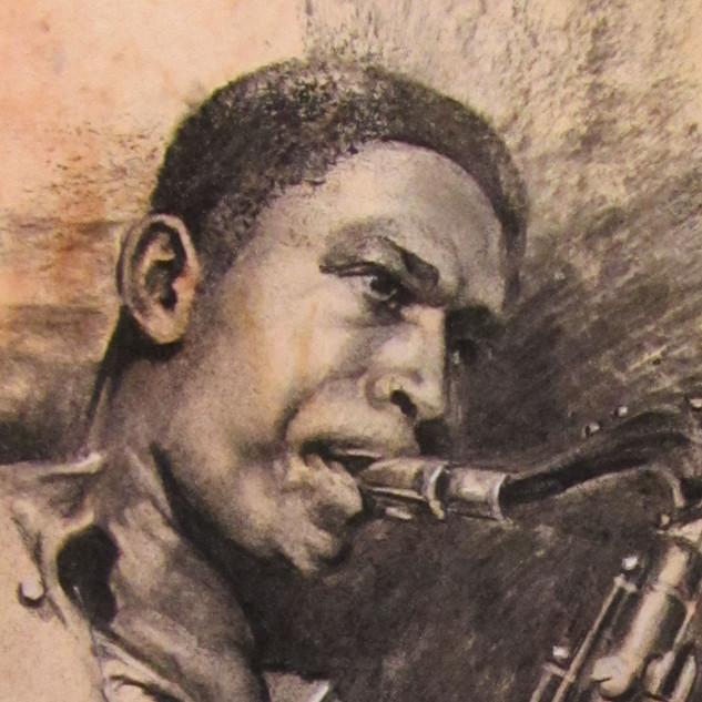 """Detail - """"John Coltrane"""""""