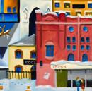 Christmas card detail