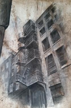 Old Fire Escape, Manchester