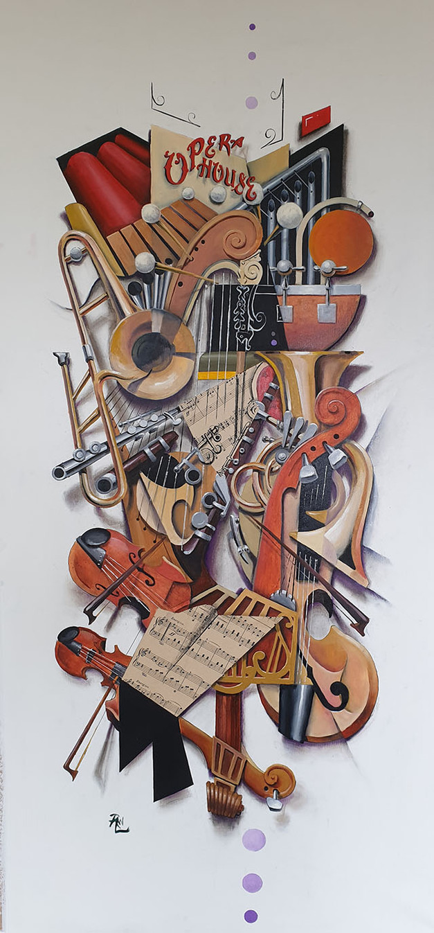 """The Complexity Of An Orchestra, by Someone Who Can't Play a Musical Instrument"""