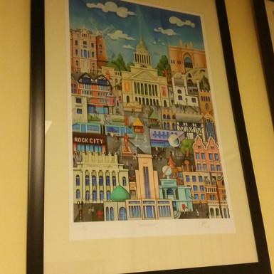Nottingham Framed