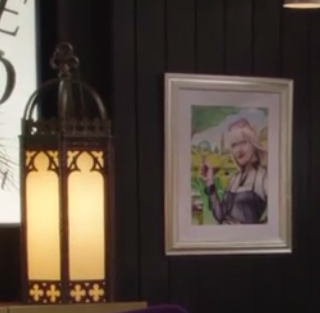 The portrait, as it appears in the show