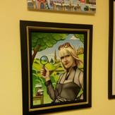 Agatha framed!