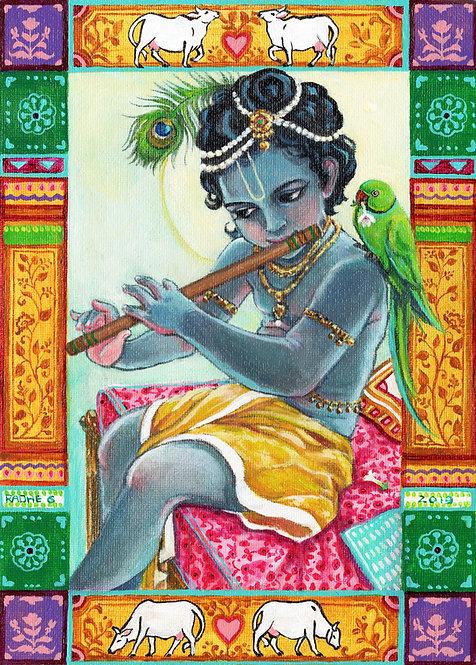 Krishna in the Morning