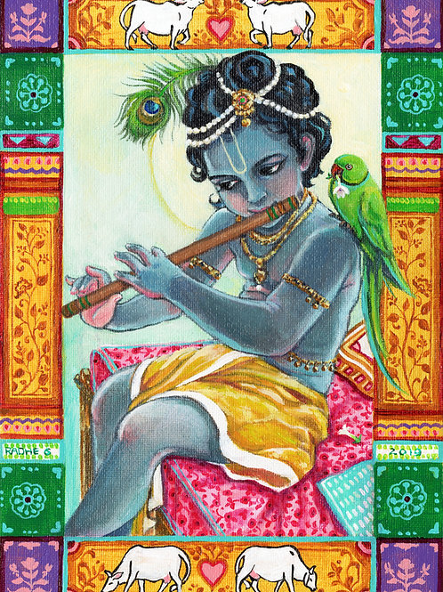 Krishna in the Morning