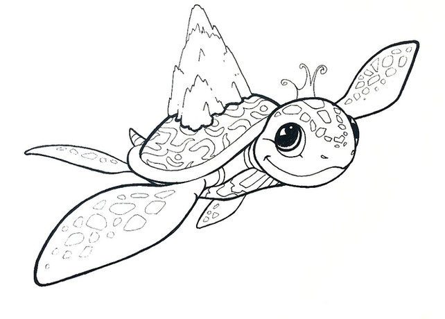 Children's T-shirt design Ink on paper  2014