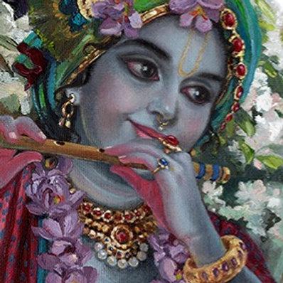 Krishna portrait