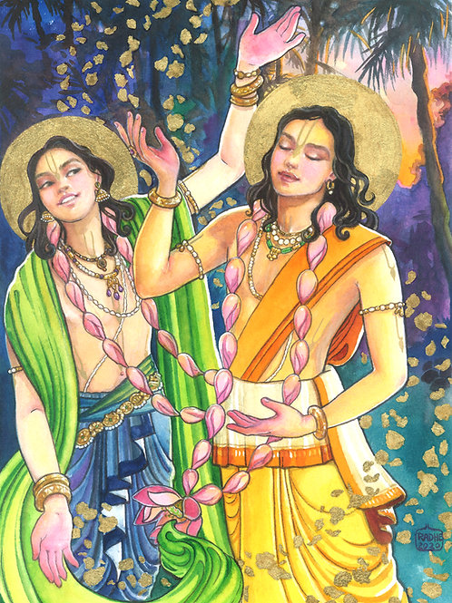 Nitai and Nimai the merciful