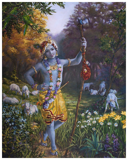 Govinda, protector of the cows.