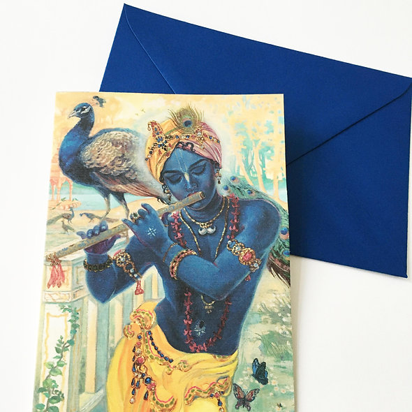 Greeting card with Pearlescent envelope - Muralidhara