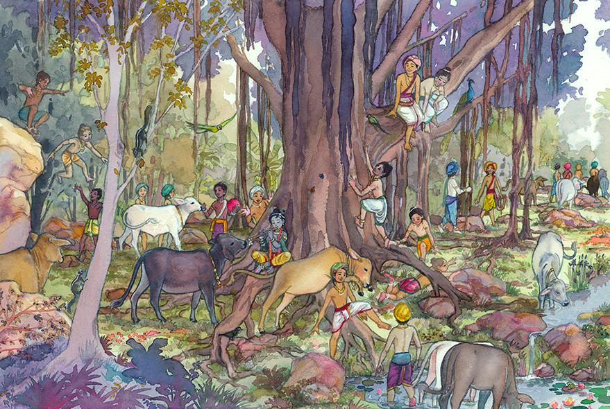 Vrindavan Forest