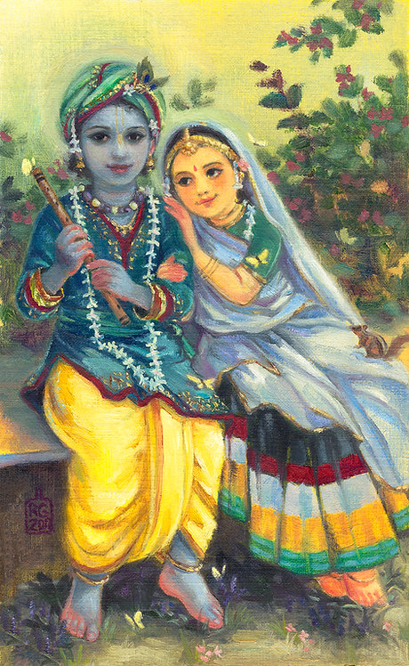 Little Radha Krishna
