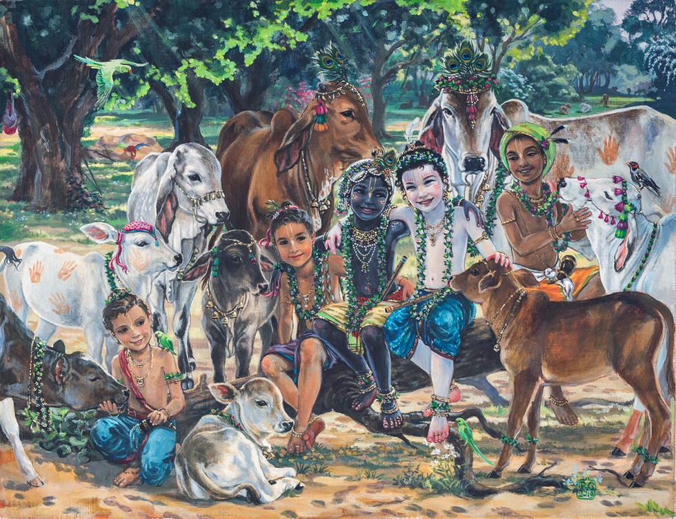 Cowherd boys