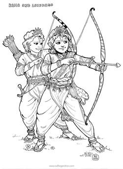 Rama and Laksmana