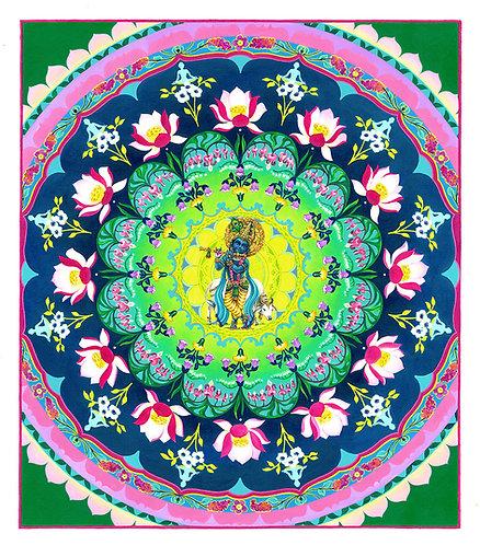 Krishna Mandala, original artwork of the Mantra Lounge 3 album