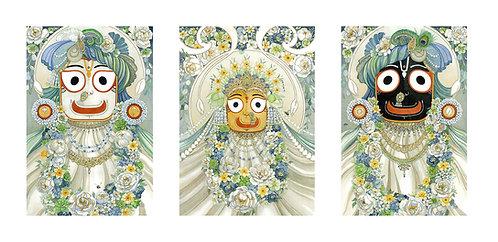 Set of individual JBS prints