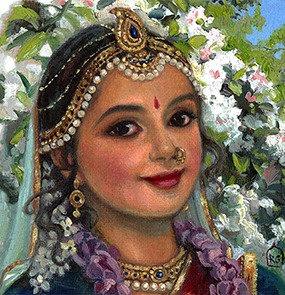 Radha portrait