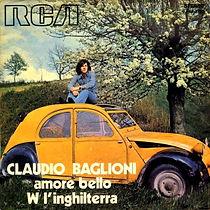 Single Amore bello/W l'Inghilterra - 1973
