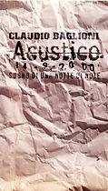 Videokassette Acustico - 2000