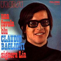 Single Una favola blu/Signora Lia - 1970