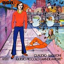 Single Questo piccolo grande amore/Porta portese - 1972