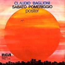 Single Sabato pomeriggio/Poster - 1975