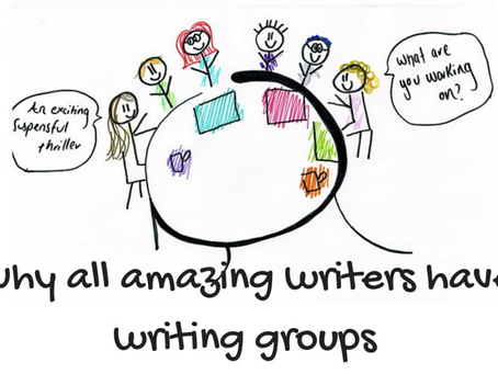 Benefits & joy of Joining a Writing Group