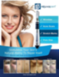 MicroNeedling with rejuvapen