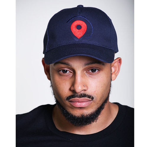 Location Cap (navy)