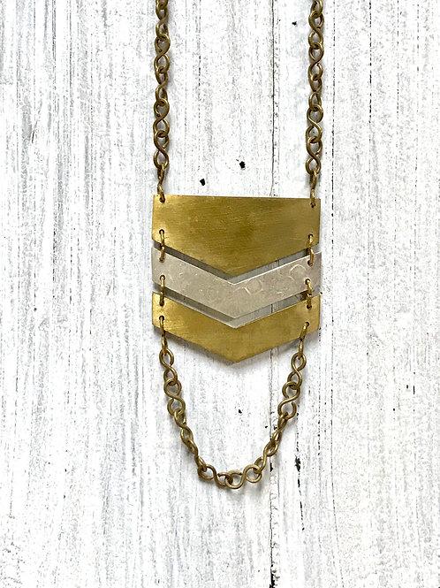 Sundara Chevron Necklace