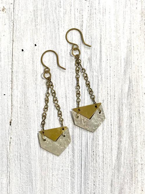 Sundara Chevron Earrings