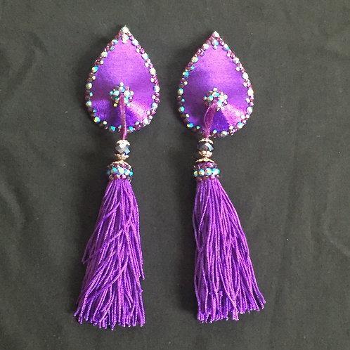 Purple Teardrops
