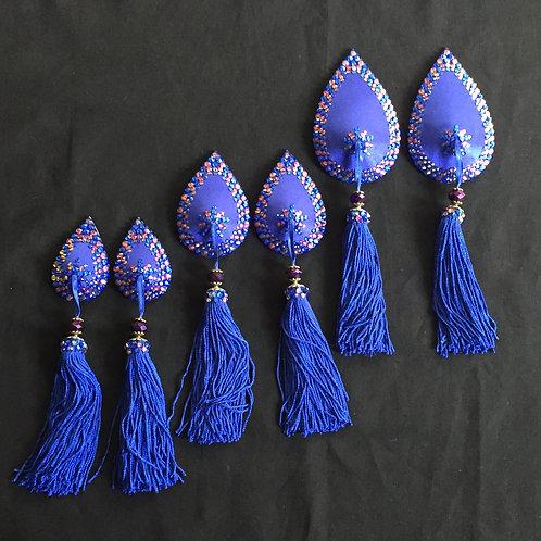 Sapphire Teardrops