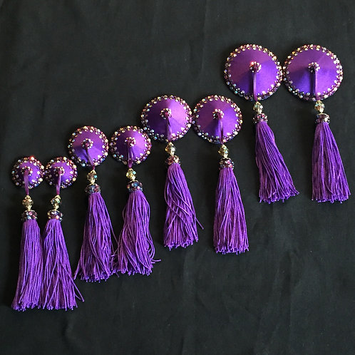 Royal Purple with Gold