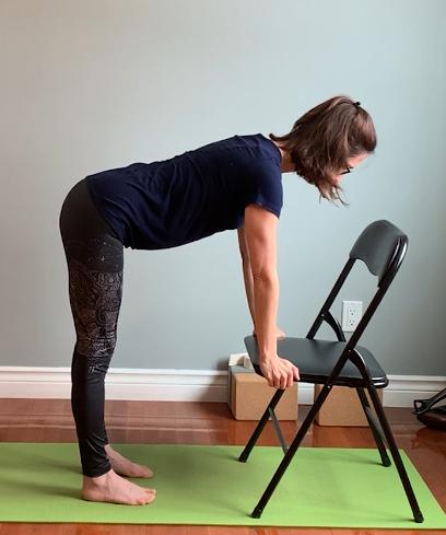 Demie flexion avant