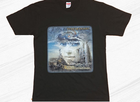 SYNRABANSHO Cover art Tシャツ(Black)