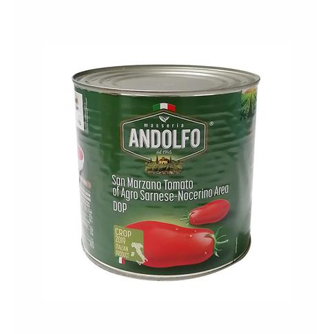 PEELED SAN MARZANO TOMATOES dell'Agro Nocerino -Sarnese P.D.O. 2.5kg
