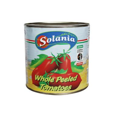 WHOLE PEELED TOMATO 2.5kg