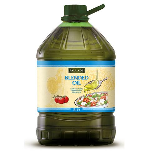 EXTRA VIRGIN OLIVE OIL (20%) BLEND WITH SUNFLOWER OIL - 5 ltr PET