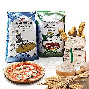 Pizza Flour, Pasta Flour, Bread Flour