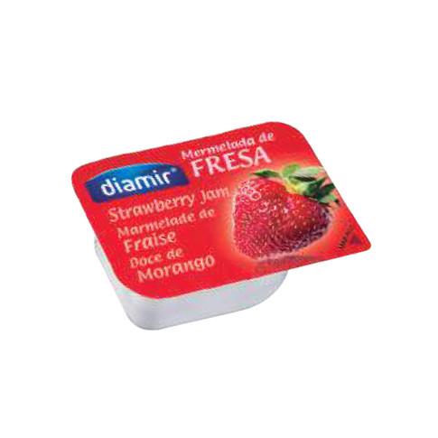 STRAWBERRY JAM  15gr Portions - 100 pcs