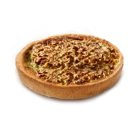 MUSHROOMS AND EMMENTAL CHEESE QUICHE 190 MM Ø