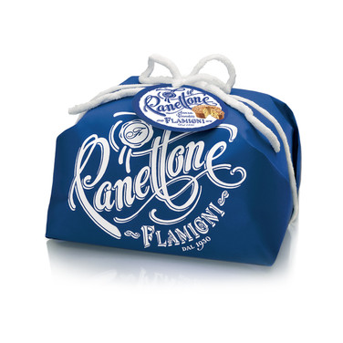 PANETTONE HANDWRAPPED WITHOUT CANDIED FRUIT 1KG