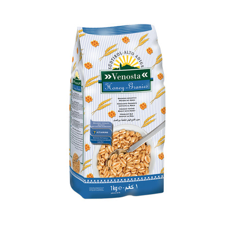 PUFFED WHEAT WITH HONEY