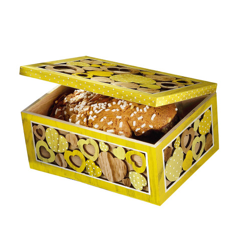 """CLASSIC COLOMBA  (The """"Hearts"""" wooden hatboxes)"""