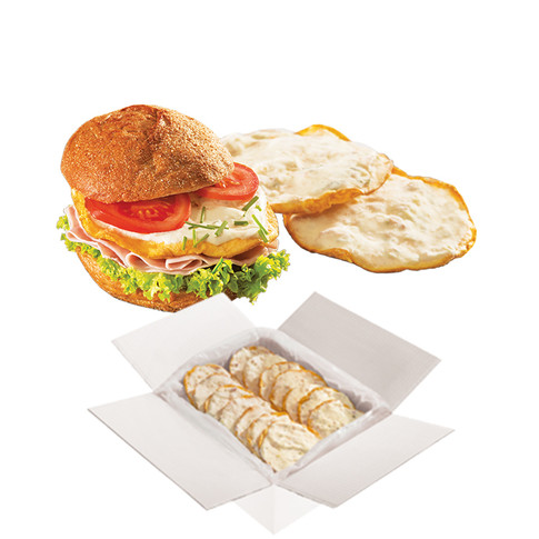 SANDWICH PATTY WITH CAESARS TOPPING
