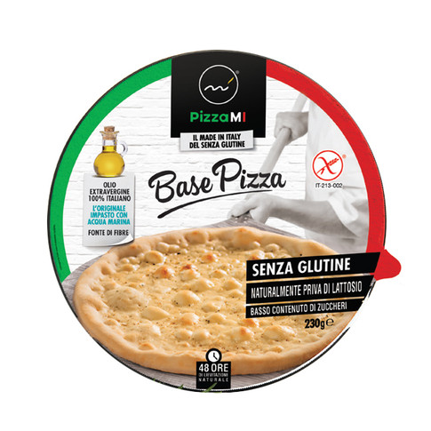 PIZZA BASE INDIVIDUALLY FLOW PACKED