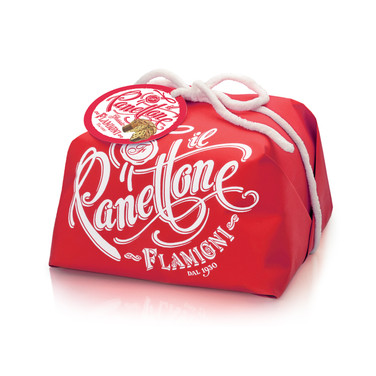 SUGAR ICED HANDWRAPPED PANETTONE 1KG
