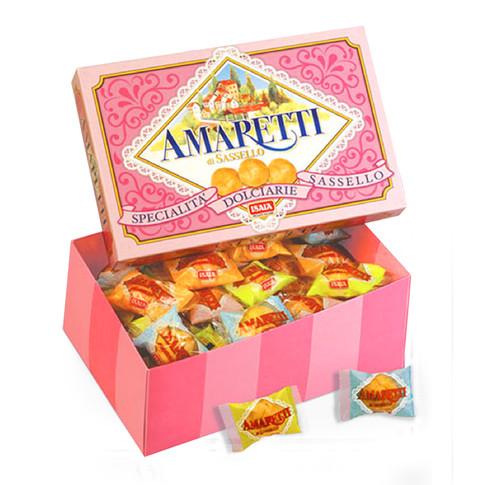 """SOFT AMARETTI """"CLASSIC"""" in pink box"""